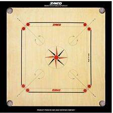 SK, 32x32 full size tournament quality carom board with carrom coin+striker,
