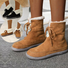 Women Low-top Single Boots Ankle Boots Classic Shoes Flat Round Toe Cotton Boots