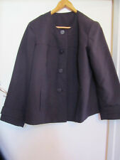 Dark Purple Jacket in Size 18 - NWOT