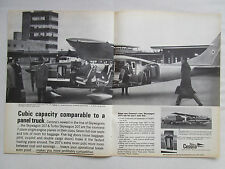 5/1969 PUB AVION CESSNA TURBO SKYWAGON 207 AIRCRAFT FLUGZEUG ORIGINAL AD