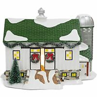 Dept 56 Hot Properties Country Living Village Crooked Creek Farm Ships Globally!