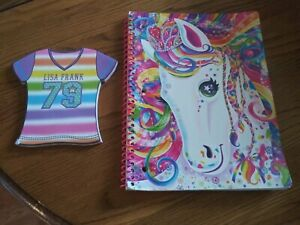 2 Lisa Frank Notebooks 60 pages, 70 pages