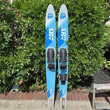 "Vintage EP XR7 Water Skis LTD Series 67"" Aluminum Fin Combo Slalom Pair"