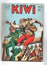 KIWI n°34 - juin 1958 - LUG. Bel état