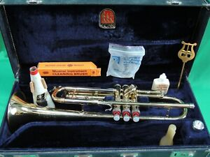 CONN 15B  Refurbished 🎺 Trumpet - EXTRAS w/Conn 4 mouthpiece & Hardshell Case