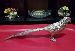 Gorgeous Silver Decorative Metal Bird