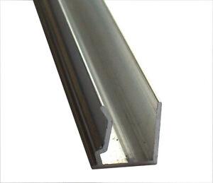 ALU Abschlussprofil für Doppelstegplatten von 6 bis 32 mm Stärke, Länge bis 1,5m