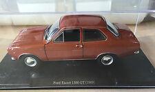 """DIE CAST """" FORD ESCORT 1300 GT (1969) """" SCALA 1/24  AUTO VINTAGE"""