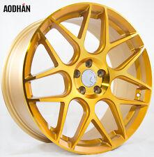 18X8 +35 18X9 +30 AodHan LS002 5X100 Gold Wheel Fits dodge neon srt4 fr-s gt86