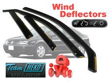Volkswagen Bora 1998 - 2005 SALOON Wind deflectors 4.pc  HEKO  31135