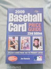 #UU.  2009  BASEBALL CARD PRICE GUIDE 2001 onwards