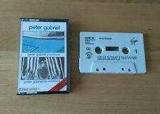 VERY RARE Peter Gabriel 1 & 2 UK Cassette Mispress CASMC 102 Classic Prog Rock