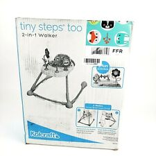 Kolcraft Tiny Steps Too 2-in-1 Infant & Baby Activity Walker Seated/ Walk Behind