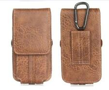 Universal PU Leather Case Cover Pouch Bag Belt Clip Loop Holster Card Slot Phone