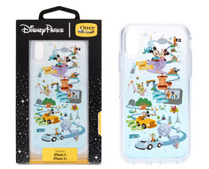 Mickey Retro Castle Figment OTTERBOX X XS iPhone Case Disney World Four Parks