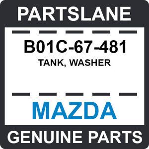 B01C-67-481 Mazda OEM Genuine TANK, WASHER