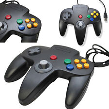 Retrolink Wired Classic Nintendo 64 N64 Game USB Controller for PC MAC Computer
