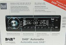 DUAL DAB CAR1 Autoradio Digital CD DAB+ MP3 CD USB SD Lautstärkeregler defekt