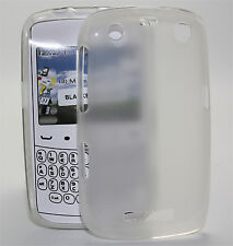 Custodia Cover in silicone per Blackberry 9360 trasparente cover silicone skin guscio