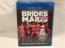 Bridesmaids (Blu-ray/DVD, 2011, 2-Disc Set, Unrated/Rated)