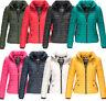 Navahoo Premium Damen Herbst Winter Jacke Übergangsjacke Steppjacke Neu Riva