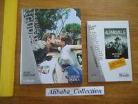 LOT DVD Alphaville Jean-Luc Godard + LIVRE CAHIERS CINEMA LE MONDE 7 MANDELBAUM