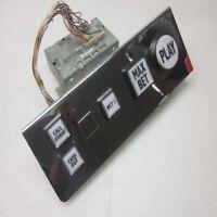 Slot Machine 5-Button Control Assembly w/Harness & Firmware Control Box