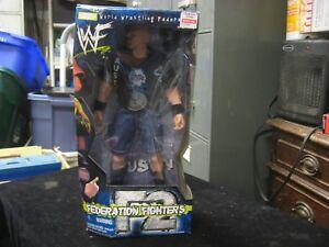 "Jakks 1999 WWF Freedom Fighters F2 Stone Cold Steve Austin 12"" Action Figure New"