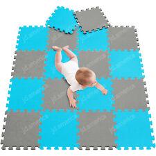 30x30cm Baby Crawling Mats Kids Play Home Floor Puzzle Mats Soft EVA Foam 18PCS
