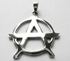 Sterling Silver (925)  Anarchy  A    ( 5.7 grams )   !!       Brand  New !!