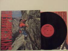 DAVID LEE ROTH disco LP SKYSCRAPER 1988 made in CANADA + innersleeve