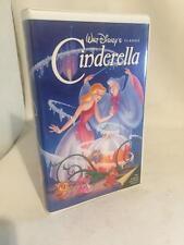 "Walt Disney's Cinderella Black Diamond Classic VHS, 1988"" RARE 410"""