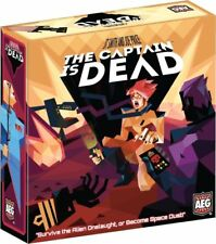 AEG the Captain Is Dead Board Game New and Sealed - In Hand