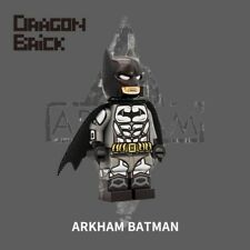 **NEW** DRAGON BRICK Custom Arkham Batman 2 Lego Minifigure