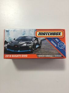 2020 Matchbox 2018 Bugatti Divo 1/64 Sealed