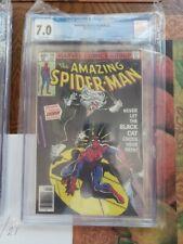 CGC 7.0 AMAZING SPIDER-MAN #194 1st App Black Cat Direct Ed 1979 Marvel Comics