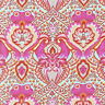 By 1/2 Yard ~ Free Spirit Tula Pink Fabric All Stars ~ Frog Prince in Peony