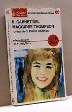 IL CARNET DEL MAGGIORE THOMPSON - P. Daninos [Libro, Mondadori]