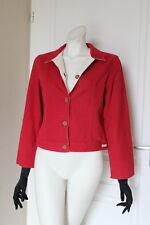 veste créateur réversible rouge et blanc cassé YAMPA taille 38