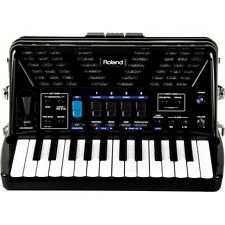 Roland BLACK FR-1X-BK V-Accordion Lite with 26 Piano Keys & Speakers FR1X