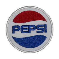 Pepsi Logo Circle Patch Iron On Patch Sew On Badge Patch Embroidery Patch
