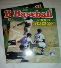 Topps Baseball Sticker Yearbook 1984 1985 MLB Cal Ripken Rod Carew Fran Cona