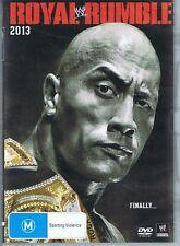 ROYAL RUMBLE 2013 WWE DVD The Rock Dwayne Johnson NEW/SEALED Wrestling FREE POST