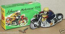 Schüco Antike Blechspielzeugmotorräder als neuzeitliche Repro -/Nostalgieware