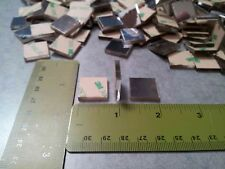 3/4 Inch Small Square Mirrors, 50 Pieces Mosaic Mirror Tiles, 3M, 50 Pcs