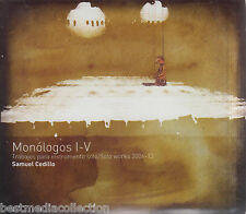 Monologos I - V CD Trabajos Para instrumento Solo 2006-13 BRAND NEW