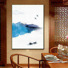 Chinese Style Landscape Painting Canvas Poster Wall Picture Art Print Home Decor