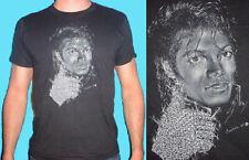 Michael Jackson T-Shirt T shirt Tee BLACK THRILLER 1984 NEW