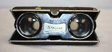 Vintage Stellar Collapsible Folding Sport/Opera Pocket Binoculars Glasses