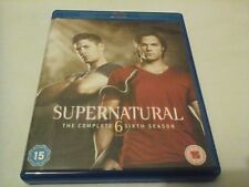 Supernatural Season Series 6 - 100% UK Region B Blu Ray